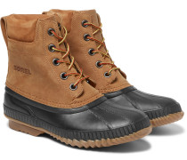 Cheyanne Waterproof Suede And Rubber Boots