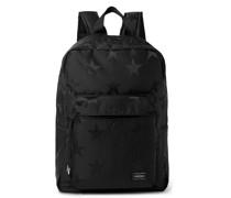 Star-Print Nylon Backpack