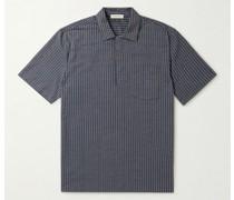 Striped Cotton-Blend Shirt