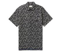 Dock Floral-Print Cotton Shirt