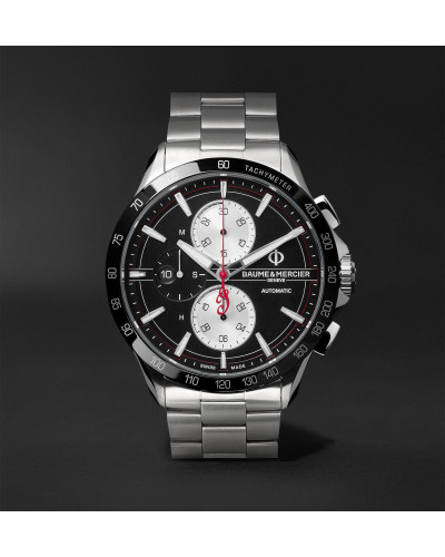 Clifton Club Indian Legend Tribute Chief Chronograph 44mm Stainless Steel Watch, Ref. No. M0A10403