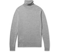 Cherwell Mélange Merino Wool Rollneck Sweater
