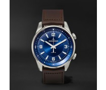 Polaris Automatic Stainless Steel and Leather Watch, Ref. No. Q3848422