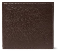 Grained-leather Billfold Wallet