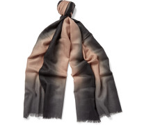 Dip-dyed Cashmere Scarf