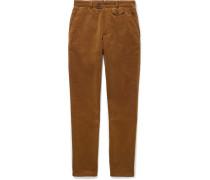 Fishtail Cotton-corduroy Trousers