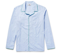Henry End-on-end Cotton Pyjama Shirt