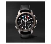 AC-R-II America's Cup Automatic Regatta Chronograph 43mm Stainless Steel and Rubber Watch, Ref. No. 970380