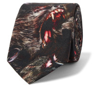 7cm Monkey Brothers Printed Cotton Tie