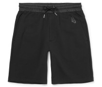 Nikelab Shell-trimmed Cotton-blend Shorts