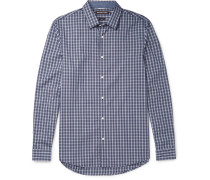 Joseph Slim-fit Checked Cotton Shirt