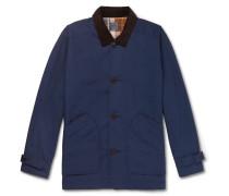 Barn Corduroy-trimmed Cotton Field Jacket