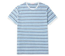 Sammy Striped Cotton-Terry T-Shirt