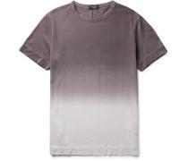 Gaskell Dégradé Slub Cotton-jersey T-shirt