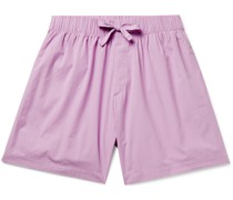 Organic Cotton-Poplin Pyjama Shorts