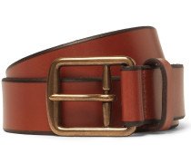 3cm Tan Leather Belt