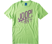 Herren T-Shirt Raphus Regular Fit Baumwolle hellgrün