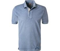 Polo-Shirt Baumwoll-Piqué mittel
