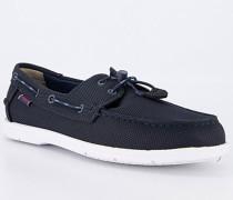 Bootsschuhe Textil navy