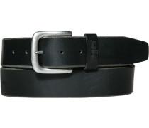 Herren Gürtel schwarz Breite ca. 4 cm