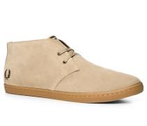 Herren Schuhe Desert Boots Veloursleder sand beige