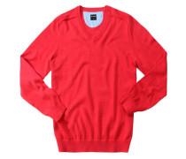 Herren Pullover Baumwolle, rot