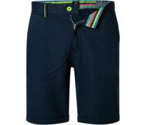 Hose Shorts, Regular Fit, Baumwolle-Leinen