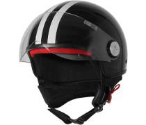 Herren   Helm schwarz