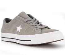 Schuhe Sneaker Veloursleder hell
