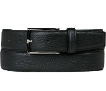Herren Gürtel Breite ca. 3,5 cm, schwarz