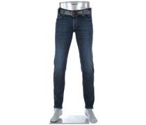 Jeans Slim, Slim Fit, Baumwoll-Stretch 11oz