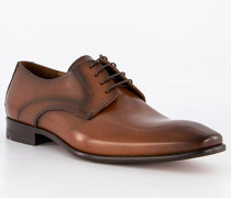 Schuhe Derby Obar Kalbleder cognac