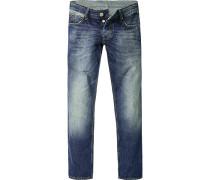 Herren Jeans Slim Fit Baumwolle jeans