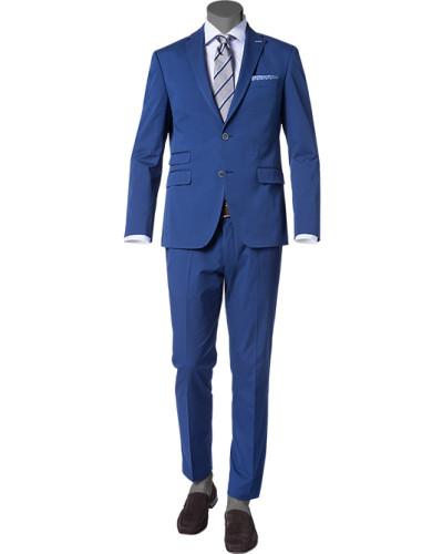 pierre cardin herren herren anzug baumwoll stretch blau. Black Bedroom Furniture Sets. Home Design Ideas