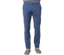 Herren Chino Fitted Baumwoll-Stretch jeans