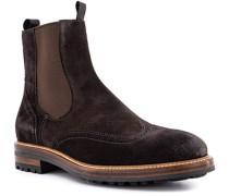 Schuhe Chelsea Boots, Veloursleder wasserabweisend