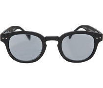 Herren Brillen Korrekturbrille mit UV Schutz, Kunststoff, schwarz