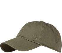 Herren Cap, Baumwolle, khaki grün