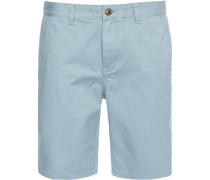 Herren Jeans-Shorts Straight Fit Baumwolle hell