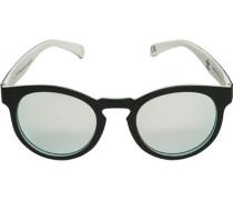 Herren Brillen adidas, Sonnenbrille, Kunststoff, schwarz-weiß