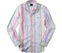 Herren Hemd, Baumwolle, multicolor