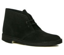 Herren Schuhe Desert Boots Veloursleder schwarz schwarz,beige