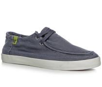 Herren Sneaker Canvas jeansblau