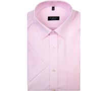 Herren Hemd, Comfort Fit, Chambray, rosa