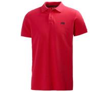 Herren Polo-Shirt New Transat Polo Baumwollpiqué rot