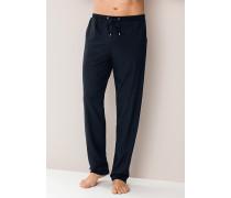 Schlafanzug Jogpants Baumwolle-Modal nacht