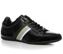 Herren Schuhe Sneaker Space Lea Leder-Mix schwarz