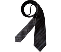 Herren Krawatte blau,schwarz
