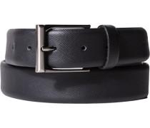 Herren Gürtel schwarz Breite ca. 3,5cm