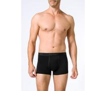 Herren Unterwäsche Trunks Baumwoll-Stretch schwarz